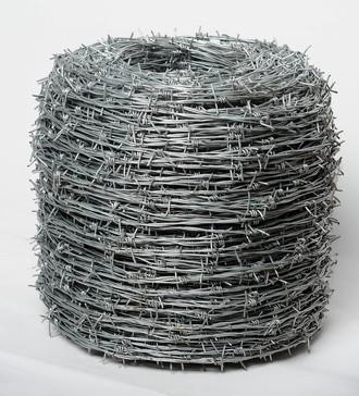Stacheldraht, dickverzinkt, 1,7 mm, 50 Meter