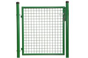 Gartentor, grün, 1,25m hoch - 1,50m breit - Stabile Ausführung