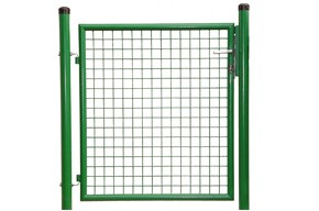 Gartentor, grün, 0,80m hoch - 1,25m breit - Stabile Ausführung