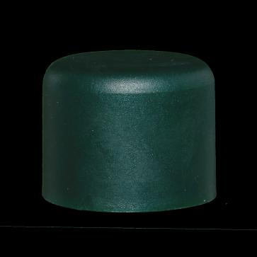 Pfostenkappe, grün, für 34 mm Pfosten