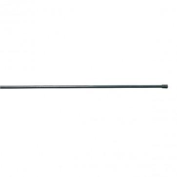 Geflechtspannstab, anthrazit, 6 mm Durchmesser, für Zaunhöhe 125 cm