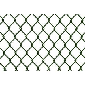 Maschendrahtzaun Rolle 80 cm hoch, 25 m lang, grün, 50er Masche