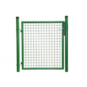 Gartentor, grün, 2,00m hoch  -  1,00m breit - Stabile Ausführung