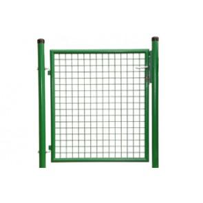 Gartentor, grün, 1,75m hoch - 1,25m breit - Stabile Ausführung