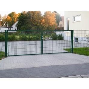 Bevorzugt Zaunshop Gartentore für Doppelstabmattenzaun CB05