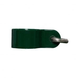 6 Stück Hakenschelle, grün, 34 mm