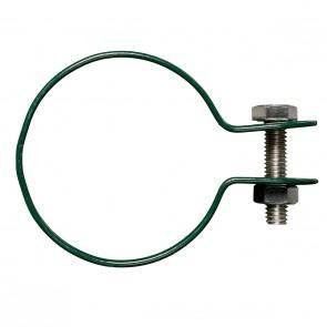 Gelenkschelle für Strebenkappe, grün, für 34 mm Pfosten/Strebe