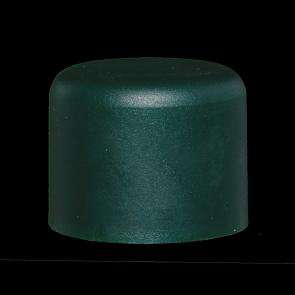 Pfostenkappe, grün, für 38 mm Pfosten
