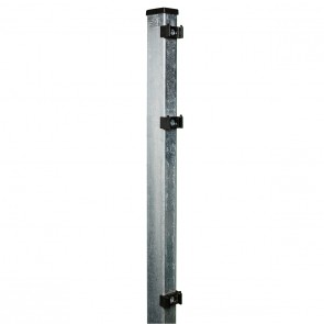 Pfosten verzinkt für 1430mm Doppelstabmattenzaun