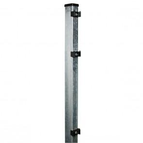 Pfosten verzinkt für 1230mm Doppelstabmattenzaun