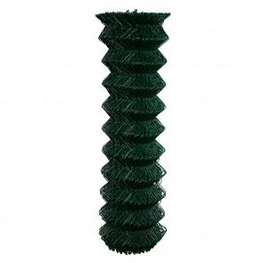 Maschendrahtzaun Rolle 125 cm hoch, 15 m lang, grün