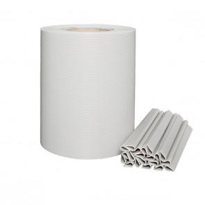 PVC Sichtschutzstreifen für Doppelstabmatten, Zink/Grau, leichte Ausführung