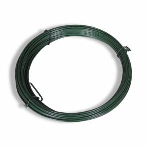 Spanndraht, grün, 3,4mm Durchmesser, 80 m lang